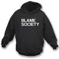 Blame Society (As Worn by Jay-Z) Kids フード付きトレーナー
