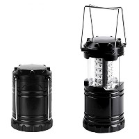 CHOJI Gray Super Bright Lightweight 30 LED Camping Lantern Outdoor Portable Lights Water Resistant...