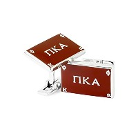 Pi Kappa Alpha Fraternity Cuff Links with公式色