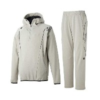 DESCENTE(デサント)ストレッチ スウェットジャケット&パンツ DBX-2750A/2750PA MGRY×MGRY L