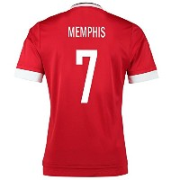 Adidas Memphis #7 Manchester United Home Soccer Jersey 2015 YOUTH/サッカーユニフォーム マンチェスター・ユナイテッドFC ホーム用...