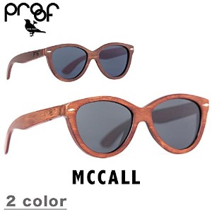 PROOF EYEWEAR プルーフ アイウェア MCCALL サングラス THE WOOD PROOF MAHOGANY/POLARIZED