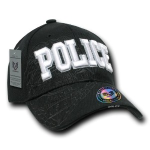Rapid Dominance JW7-POLICE Shadow Law Enforcement Caps, Police, Black
