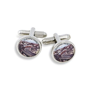 Winky &オランダElevated Train Cufflinks