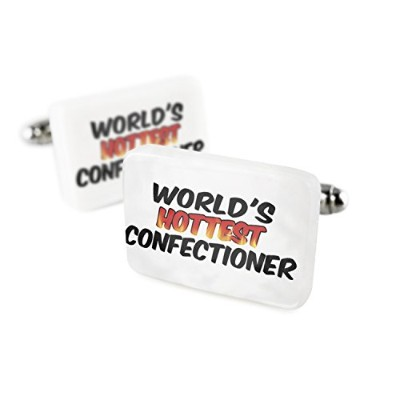 Cufflinks Worlds Hottest Confectioner磁器セラミックNEONBLOND