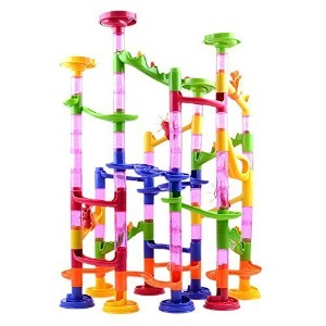 Ball Track Toys Building Blocks 105 DIY Maze Slide Marble Run Toys Model: by Toys & Child