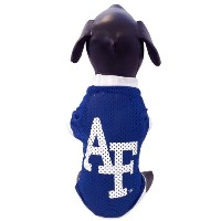 NCAA Air Force Falconsアスレチックメッシュ犬ジャージー