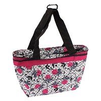 on-the-go soft-sided Insulated Lunch Tote Bag withハンドルby bogoブランド( 4色) ピンク