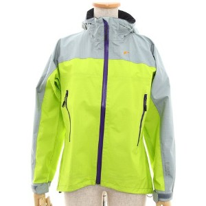 ロウアルパイン(ロウアルパイン) LSW12003 GTX PERFORMANCE RAIN JACKET W LIME/LGREY (ミント/L/Lady's)