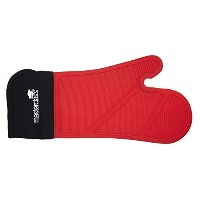Seamless Silicone Oven Glove With Cotton Sleeve
