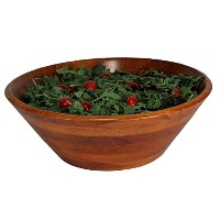 Woodard & Charles Wood Salad Bowl, 14-Inch, Walnut by Woodard & Charles