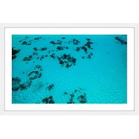 Marmont Hill mh-hasish-02-wfp-18under the sea by Hassan Ishan Framedペイント印刷18x 12Under the Sea by...