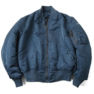 GREENBRIER IND.INC グリーンブライヤー社 MADE IN USA MA-1 フライトジャケット AIR FOROCE BLUE(LARGE AIR FOROCE BLUE)