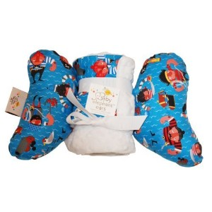 Baby Elephant Ears Head Support Pillow & Matching Blanket Gift Set (Baby Red Beard) by Baby...