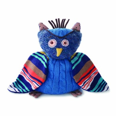 Nat and Jules Plush Toy, Oliver The Owl by Nat and Jules