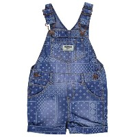 OshKosh B'gosh Baby Girls' Patchwork Denim Shortalls by Carter's