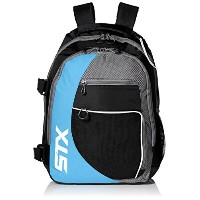 STX Lacrosse Sidewinder Lacrosse Backpack , Black / Columbia