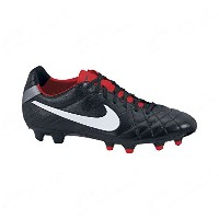 Nike Tiempo Legend IV FG Soccer Cleats (Black/Challenge Red/Mtlc Cool Grey/White)/サッカースパイク ティエンポ...