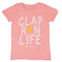 CLAP(クラップ) Tシャツ CLAP RUN AUTHENTICRED M