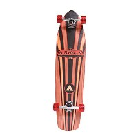 Airwalk 36'' Longboard Skateboard - Wood Grain Big 5, Brown [並行輸入品]