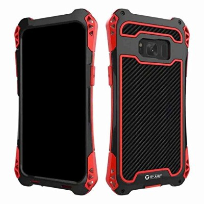 Galaxy Note8 Warrior ケース, TAITOU Newest Awesome Acecool Tough Rugged Metal Frame Bumper Anti...