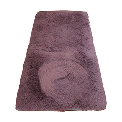 Zhhlinyuan 良質 11 Colours Floor Mat Shaggy Rug Modern ホーム Anti-skid Soft Carpets 50X160cm