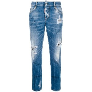 Dsquared2 - Cool Girl Cropped jeans - women - コットン/ポリエステル - 44