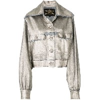 Vivienne Westwood Anglomania - メタリックジャケット - women - コットン - 42