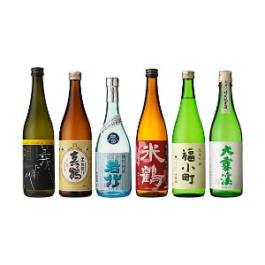 【SALE(伊勢丹)】 063 日本酒こだわり派のあなたに!全国各地選りすぐり酒米品種別6本セット 【三越・伊勢丹/公式】 お酒~~日本酒~~その他