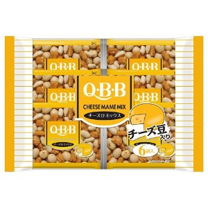 QBB NUTS (チーズ豆ミックス, 6袋)