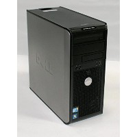 【中古】DELL OptiPlex 380 MT (Pentium Dual-Core E5400 2.70GHz/4GB/160GB/DVD-ROM)