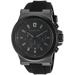 Michael Kors (マイケルコース) Blackステンレススチールand Silicone Watch One Size