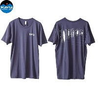 KAVU カブー Paddle On 〔 Tシャツ 2017SS 〕 (96-Navy):19810385