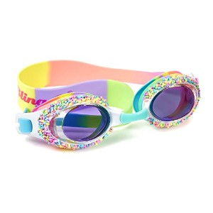 Swimming Goggles for Girls – Cake Pop Kids Swim Goggles by bling2o[並行輸入品]