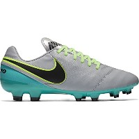Nike Tiempo Genio II Leather FG(Wolf Grey/Black/Clear Jade) /サッカースパイクティエンポ ジェニオ II レザー FG (10.5 -...