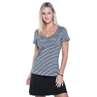 Toad & Co Marley SS Tee – Women 's L グレイ