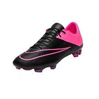 Nike Mercurial Vapor X FG Leather Soccer Cleats - Black and Pink/サッカースパイク マーキュリアル ヴェイパー X FG...