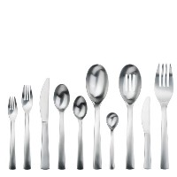 グルメ設定Carry On 45-piece Flatware Set , Service for 8
