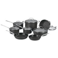 Cuisinart 66 – 14シェフのクラシックNonstick hard-anodized 14-piece調理器具セット