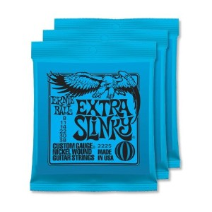 ERNiE BALL / アーニーボール 2225 EXTRA SLINKY 3個セット