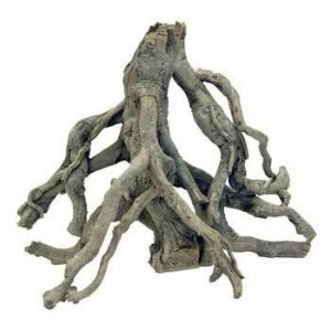 Deep Blue Professional ADB80502 Small Mangrove Tree Root Synthetic Coral for Aquarium, 16 by 8-Inch...