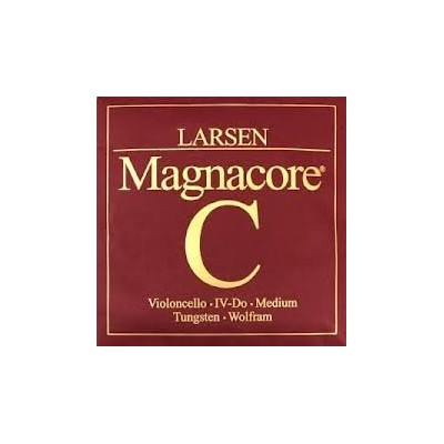 Larsen Magnacore 4/4 Cello C String - Tungsten Wolfram - Medium [並行輸入品]