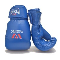 WesingプロフェッショナルマイクロファイバーBoxing Bag Gloves forバッグ作業Mitts作業