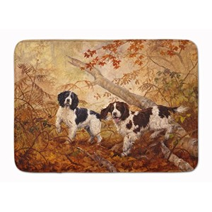 "Caroline 's Treasures heh0139rug "" Springer Spaniels byエリザベスHalstead ""フロアマット、19 "" x 27インチ、マルチカラー"