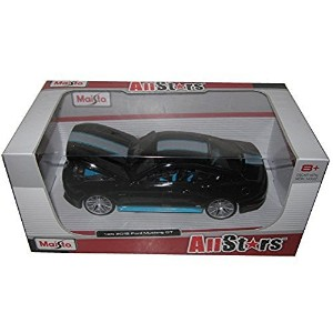 【[Maisto]Maisto 2015 Ford Mustang GT 5.0 Black Custom 1/24 by 31369 31369bk [並行輸入品]】