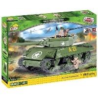 Cobi Small Army ミリタリーブロック WWII 第二次世界大戦 アメリカ軍 M10 ウルヴァリン 駆逐戦車 M10 Wolverine #2475【COBI 日本正規総代理店】