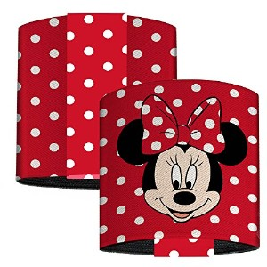 Walt Disney Elastic手首カフブレスレット–Minnie Mouse Face with Polka Dots