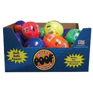 POOF 24-Pack Sport Balls Assortment [並行輸入品]