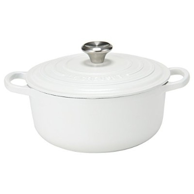 Le Creuset [ ル・クルーゼ ] SIGNATURE シグニチャー Cotton コットン 両手鍋 新生活 [並行輸入品]