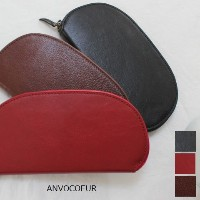 ANVOCOEUR(アンヴォクール)レザーサークルウォレット 3color【Wallet】